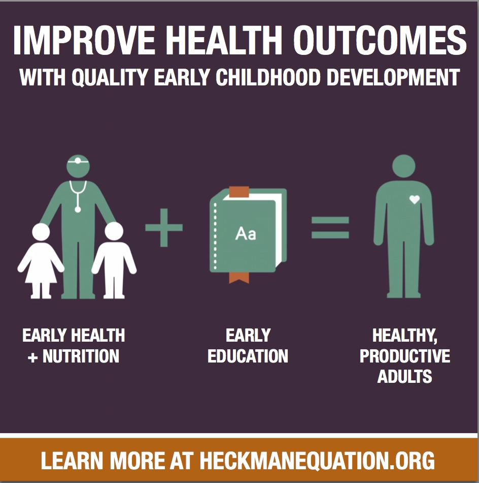 Early Childhood Development Improves Health Outcomes The Heckman